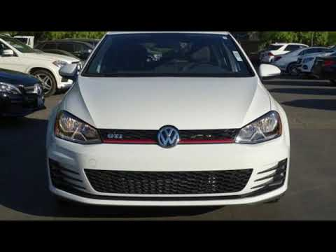 Used 2017 Volkswagen Golf GTI San Francisco San Jose, CA #33836
