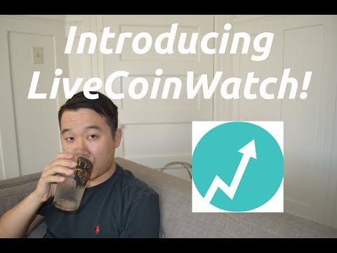 MOVE ASIDE CoinMarketCap... LiveCoinWatch Is HERE! (A Quick Review)