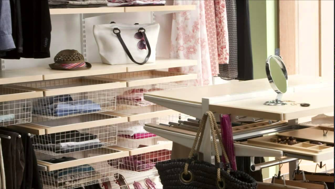 Howards storage world elfa organised bedroom youtube - Howards storage ...