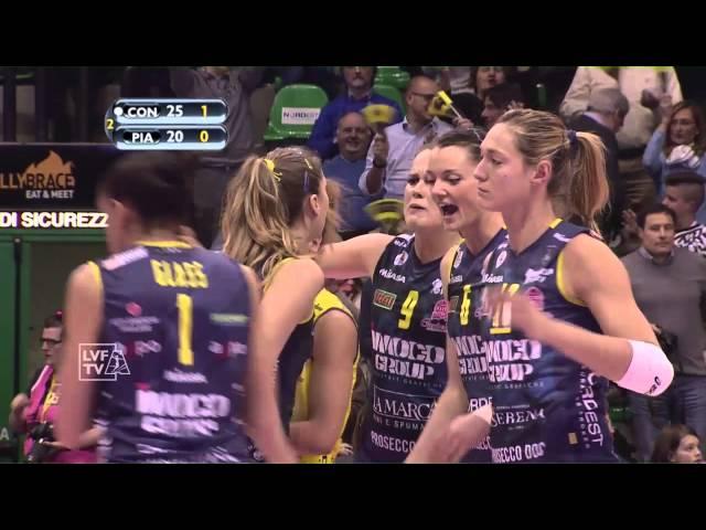 #videoemozioni. Imoco Volley Conegliano vs Nordmeccanica Piacenza