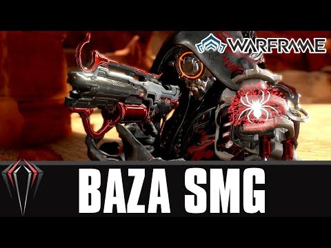 Warframe: THE BAZA SMG