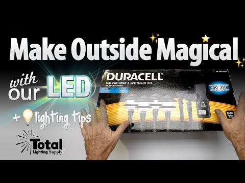 Led Duracell Pathway Spot Light