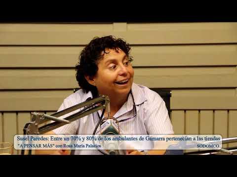Susel Paredes: Entre un 70% y 80% de los ambulantes de Gamarra pertenecían a las tiendas