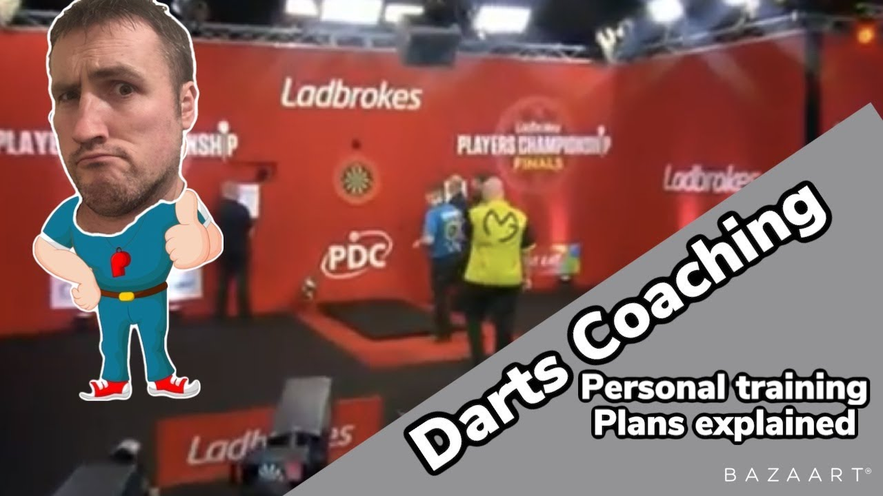 What's covered on a darts personal training plan
