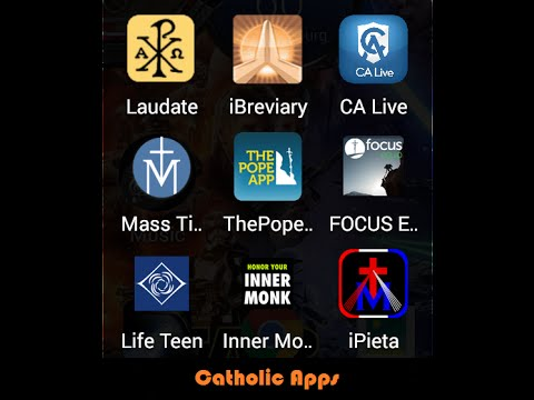 The best Catholic Apps