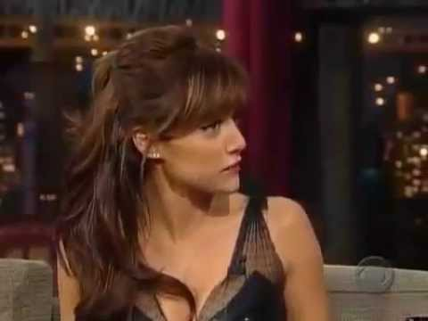 Brittany Murphy on Late  with David Letterman March 29, 2005