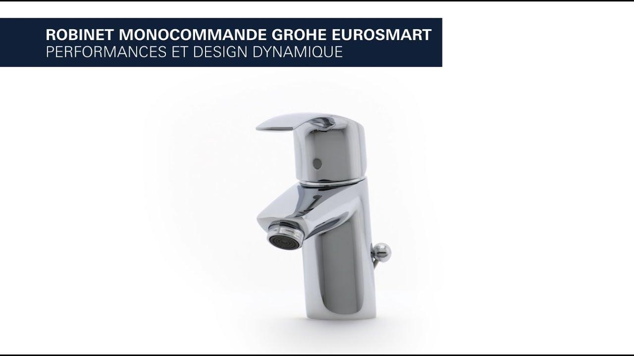 Mitigeur de lavabo grohe eurosmart youtube - Mitigeur lavabo grohe eurosmart ...