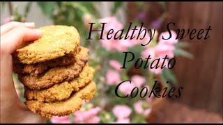 Healthy Sweet Potato Cookies - Gluten Free & Vegan Recipe