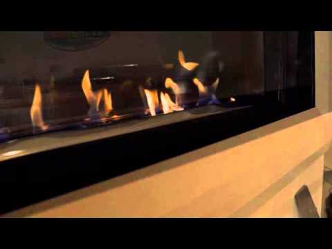 Product Video: Linear Ethanol Fireplace - YouTube
