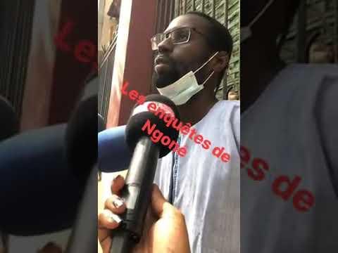 """Le fils de Bamba Ndiaye brise le silence: « Mon père n'est pas mort de la Covid-19"""""""
