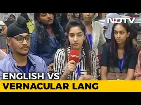 English vs Vernacular Languages