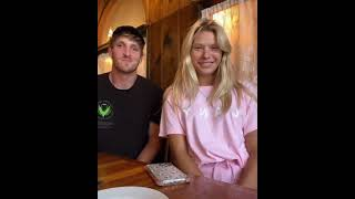 Logan and josie maĸing funny video