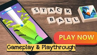 Stack Ball - Android / iOS Gameplay