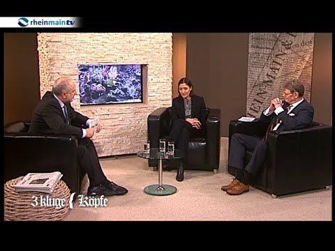 3 kluge Köpfe im Mai 2013 -- zu Gast: Susanne Gaensheimer