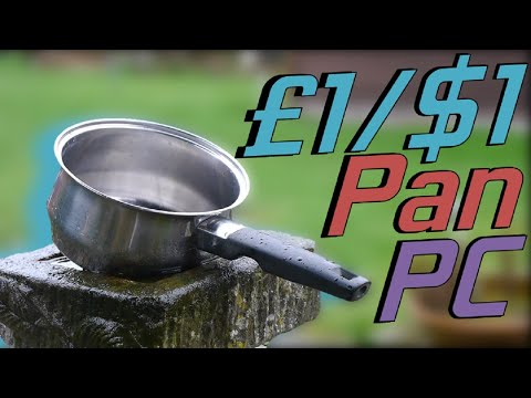 Can We GAME On A £1/$1 Pan?