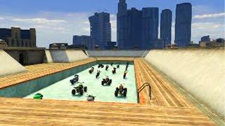 99 imposible saltos extremos gameplay gta 5 online funny moments carrera gta v ps4