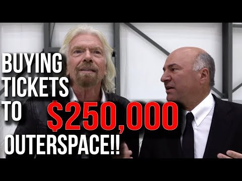 $250,000 Ticket - Richard Branson is Sending Me to OUTERSPACE | Kevin O'Leary