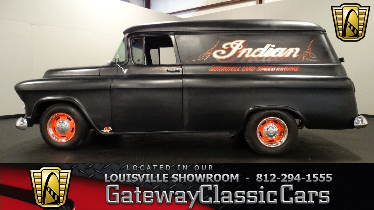 Truck 56 chevy truck : 1956 Chevrolet Panel Truck - Louisville Showroom - Stock # 1129 ...
