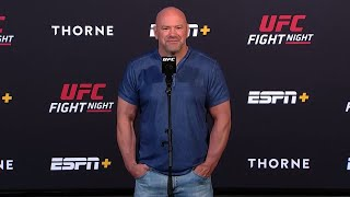 Dana White on Saturday's main event, Chimaev, McGregor, Tyson and more