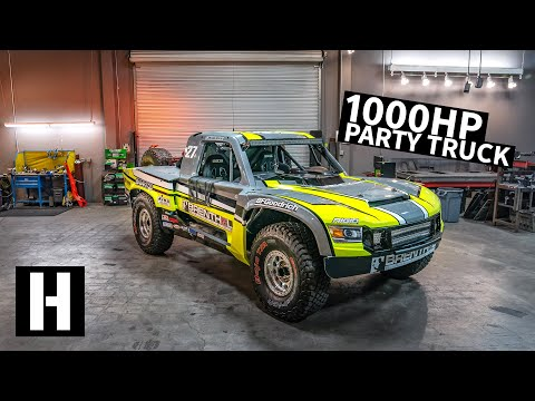 The Ultimate Desert Racing Truck... That You Can Buy!