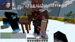 Minecraft: Santa kaže ne mrdaj !!!- nova mini igra Santa Says