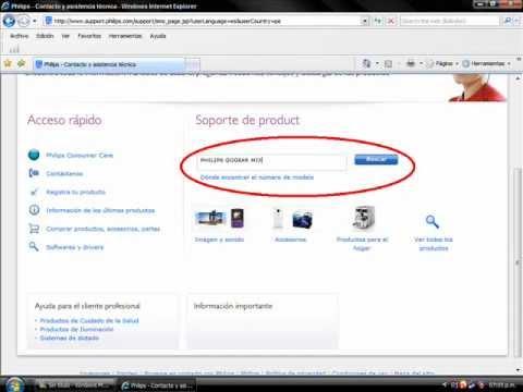 Philips SA159/02 MP3 Player Drivers Download (2019)