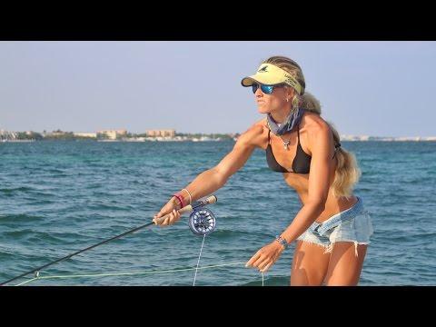Flyfishing for SHARKS!