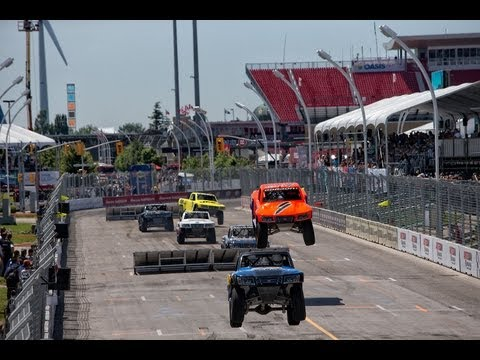 2013 Stadium SUPER Trucks Rounds 7 & 8 Toronto SST on NBC Broadcast