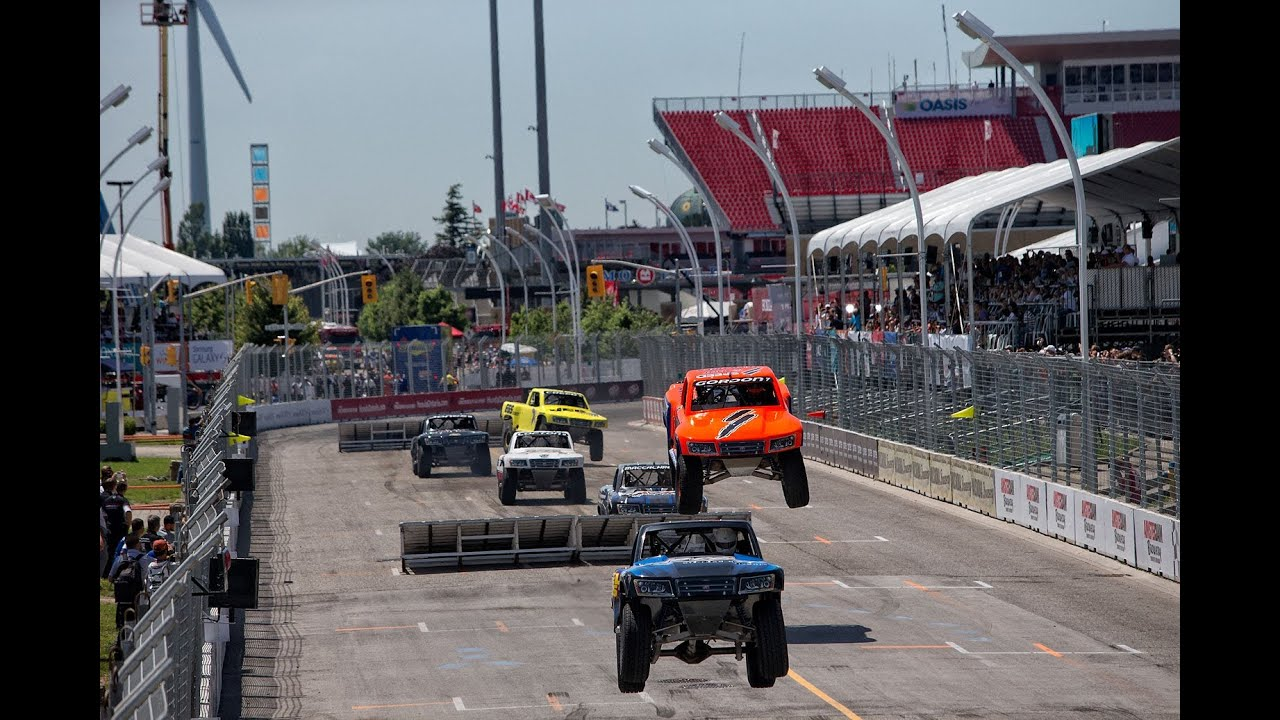Toyota Off Road Truck >> 2013 Stadium SUPER Trucks Rounds 7 & 8 Toronto SST on NBC Broadcast - YouTube