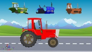 New fast tractor for the farmer | Tractors and Trucks | Video for kids | Maszyny rolnicze