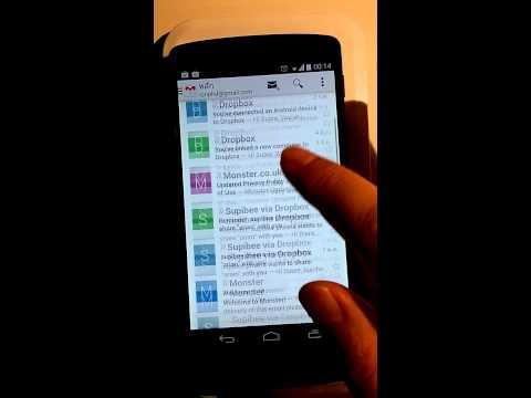 สอนใช้มือถือ( Nexus5 ) บทที่ 12 การใช้ email การใช้ Gmail