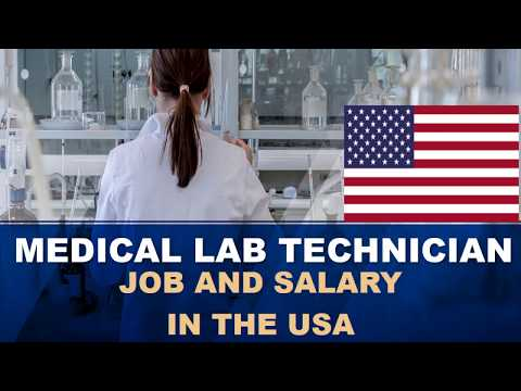 Medical Lab Technician Salary In The United States - Jobs And Wages In The United States