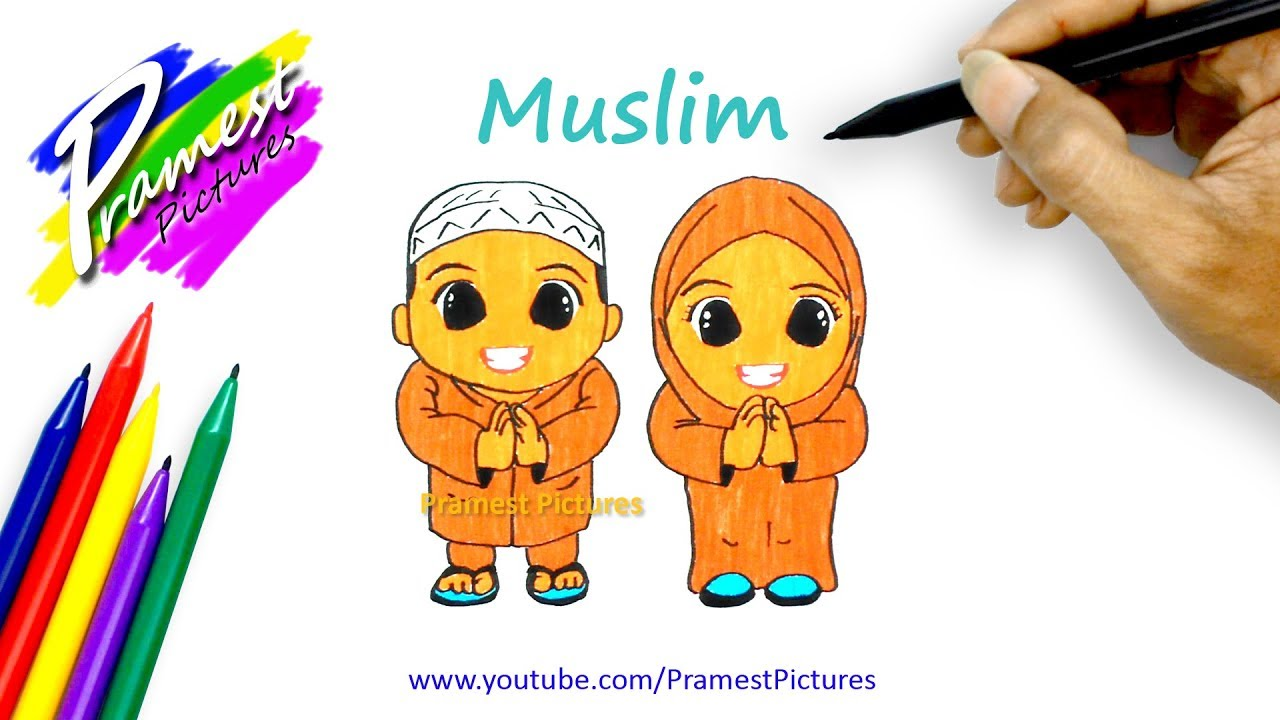 How To Draw Muslim
