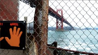 Man Commits Suicide on Golden Gate Bridge - RawBrahs SF VLOG