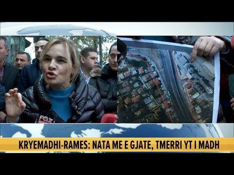 I bashkohet protestës, Kryemadhi-Ramës: Mos iu afroni banesave