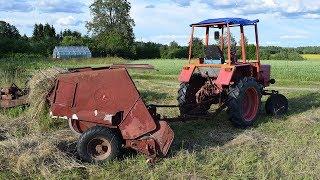 Tractor T 25 McCormick F5 112 Hay Press (1080p)