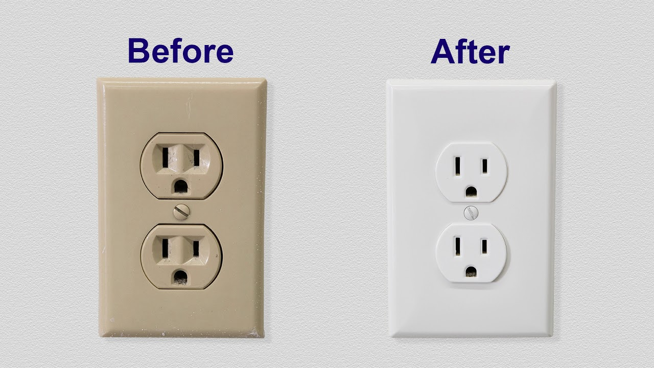Don T Paint Electrical Outlets Ever When You Can Easily Snap On An Outlet Cover To Change The Color O Outlet Covers Electrical Outlet Covers Electrical Outlets