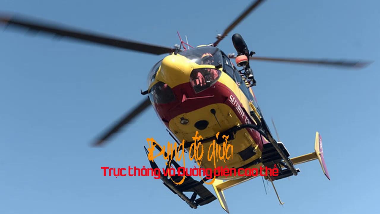 Đụng độ giữa trực thăng và đường điện cao thế