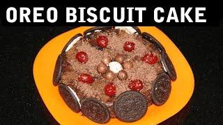 Oreo Biscuit Cake II बिस्कुट केक II  By Chef Harneet Kaur II