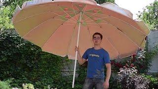 Зонт диаметром 3 метра с воздушным клапаном, 12 спиц