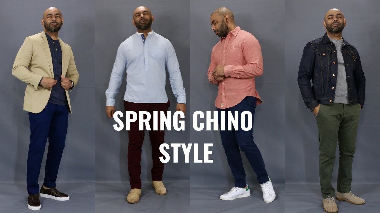 78014ec33bc How To Wear Chinos Spring 2019 4 Chino Outfits - YouTube