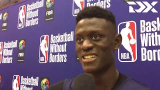 Amar Sylla: 2019 Basketball Without Borders Interview