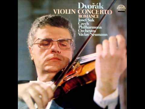 Josef Suk; Bach Partita in E major