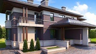 видео Проекты домов с цоколем