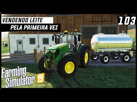 MINHA PRIMEIRA VEZ VENDENDO LEITE! | FARMING SIMULATOR 19 #103 [PT-BR] thumbnail