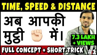 Time Speed and Distance Trick   Time Speed Distance Concept/Problems/Solutions/Tricks/Questions