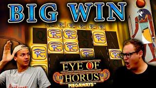 Big Win on Eye of Horus Megaways