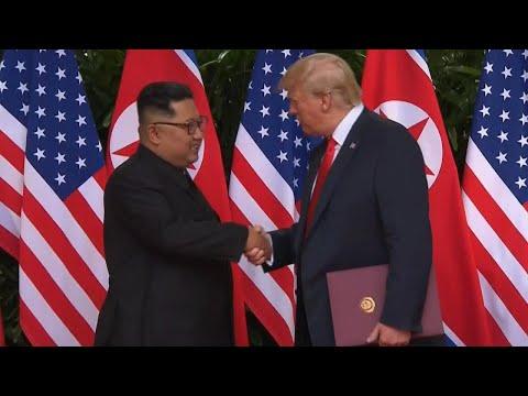 'Trump Pump' Handshake Gave President Upper Hand With Kim Jong Un: Expert