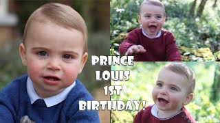 Prince Louis! Three NEW Photos Celebrate 1st Birthday Taken By Duchess Kate!