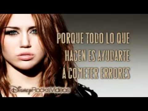 Miley Cyrus - Liberty Walk (letra Español)